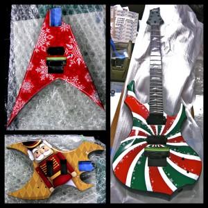 27 Xmas Guitars